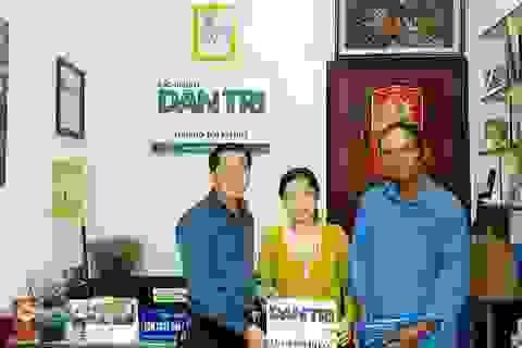 Trao hơn 54 triệu đến gia đình anh Phan Thanh Dũng
