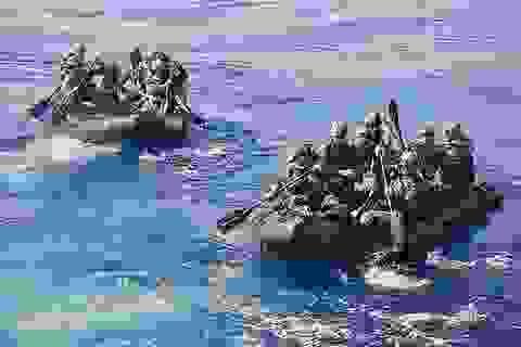 Mỹ tập trận chiếm đảo đề phòng Trung Quốc cứng rắn trên Biển Đông