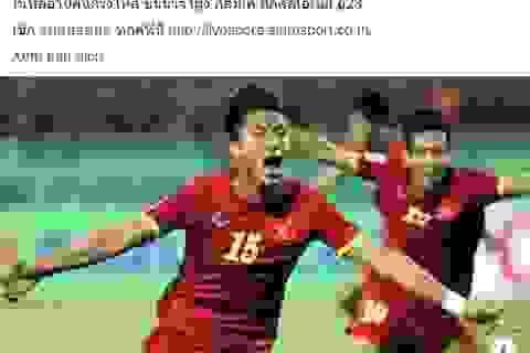 """Báo Thái Lan: """"U23 Việt Nam thể hiện sức mạnh đáng nể"""""""