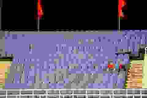 Sân Mỹ Đình còn nhiều ghế trống trong trận quyết định của U23 Việt Nam với Indonesia