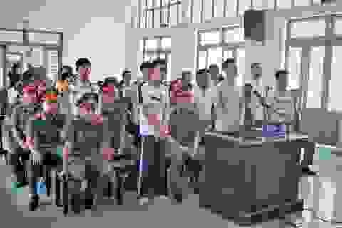 Giữ nguyên mức án với 13 bị cáo gây rối tại trụ sở UBND tỉnh Bình Thuận