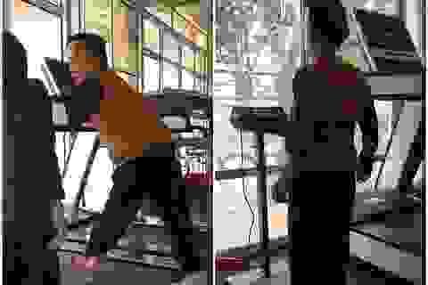 Câu chuyện phía sau clip cụ bà 84 tuổi chăm tập gym gây bão mạng