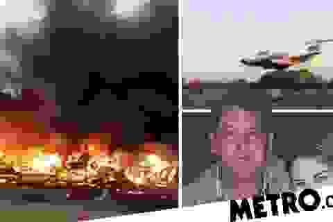 Phi công thiệt mạng vì ăn trộm máy bay, lao thẳng vào tòa nhà để giết vợ