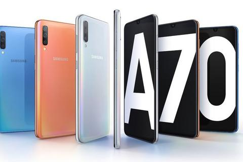 Galaxy A70 chính thức trình làng với cảm biến vân tay dưới màn hình, 4 camera