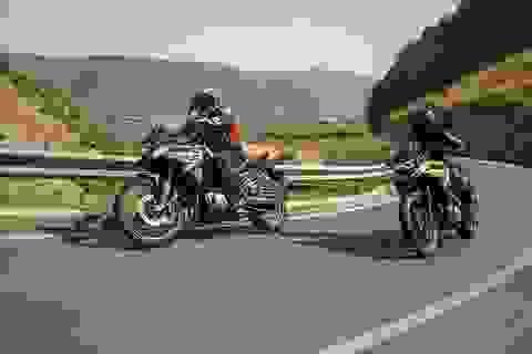 BMW F750/F850 GS thách thức Ducati Hypertrada và KTM 790 Adventure