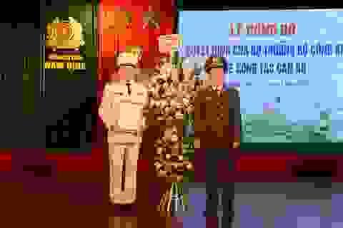 Nam Định có Giám đốc Công an tỉnh mới