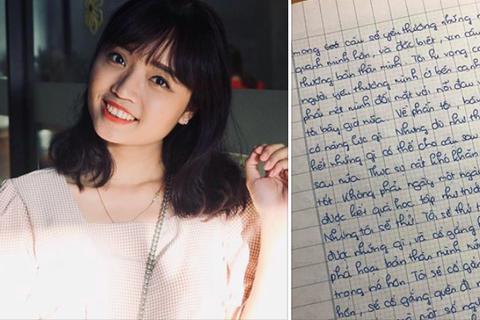 Cô giáo dạy Văn yêu cầu học trò viết thư cho... chính mình ở thì tương lai