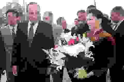 Chủ tịch Quốc hội Nguyễn Thị Kim Ngân bắt đầu thăm chính thức Morocco