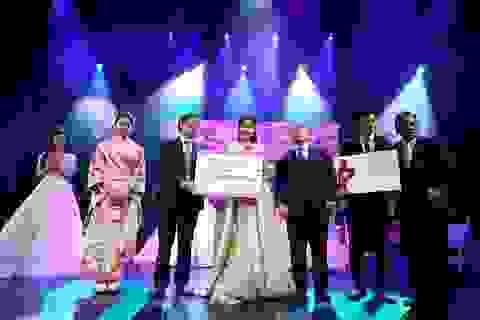 Trần Diệu Anh trở thành Đại sứ thứ nhất - Đại sứ thiện chí Hoa Anh Đào 2019