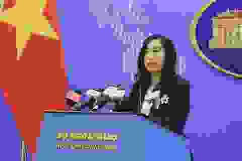 Việt Nam thực hiện ngoại giao pháp lý cao nhất cho Đoàn Thị Hương