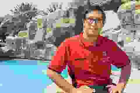Trở thành vận động viên bơi lội đầy triển vọng dù mắc hội chứng Down