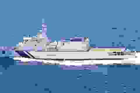 Tàu cảnh sát biển Ấn Độ thăm cảng Tiên Sa, Đà Nẵng