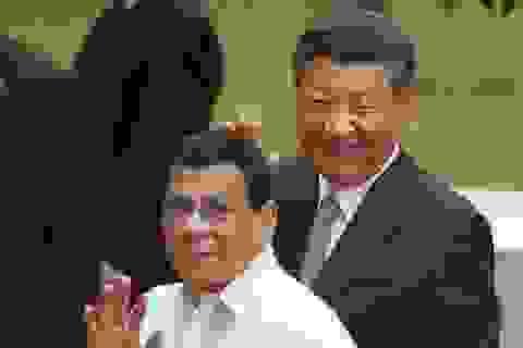 """Philippines """"to tiếng"""" quả quyết tránh được bẫy nợ của Trung Quốc"""