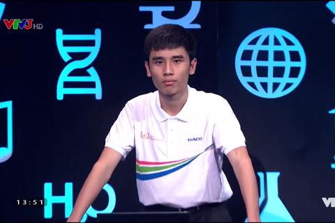 Nam sinh Sóc Sơn không có đối thủ ở cuộc thi Tuần Olympia