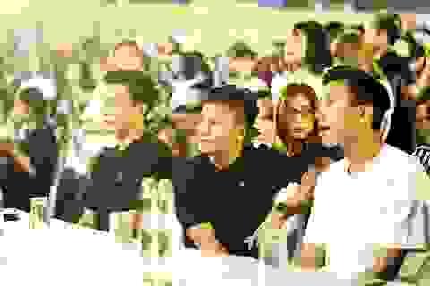 """Bùi Tiến Dũng, Quang Hải truyền cảm hứng sống """"xanh"""" trong Lễ hội Tắt đèn"""