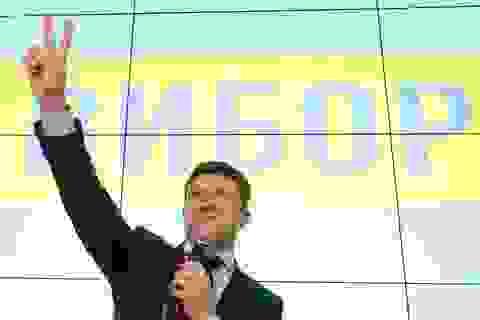 Diễn viên hài dẫn đầu vòng một bầu cử tổng thống Ukraine