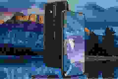 """Nokia X71 trình làng với màn hình """"đục lỗ"""", 3 camera ở mặt sau"""