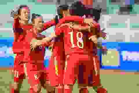 Tuyển nữ Việt Nam thắng Uzbekistan ở trận mở màn vòng loại thứ hai Olympic 2020