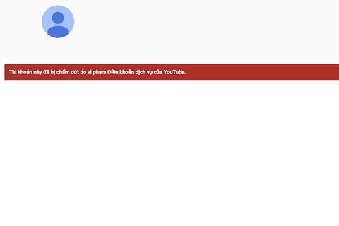 Youtube xóa bỏ tài khoản của Khá Bảnh