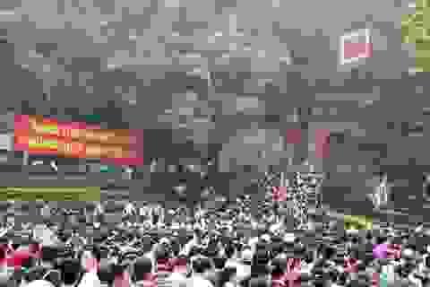 """Phú Thọ: Tập trung thực hiện """"5 không"""" ở lễ hội Đền Hùng"""