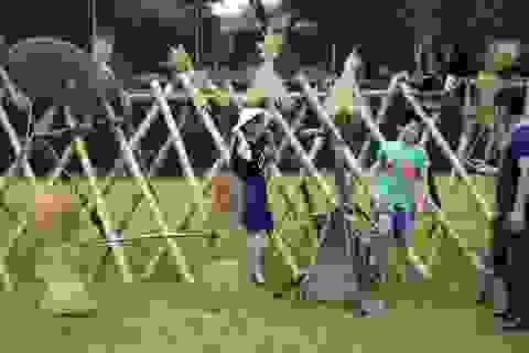 Tái hiện không gian đồng quê xưa cũ giữa Hà Nội