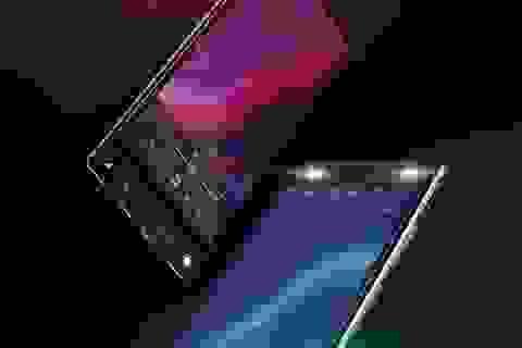 """Lộ ảnh smartphone thiết kế độc đáo không viền màn hình, không """"tai thỏ"""" của Asus"""
