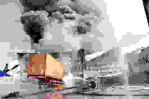Vụ cháy cực lớn tạiKCN Sóng Thần 2: Gần 20.000 m2 nhà xưởng bị thiêu rụi