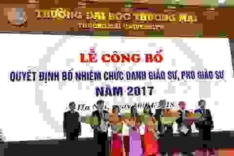 Giáo sư, phó giáo sư nước ngoài được tham gia Hội đồng giáo sư cơ sở