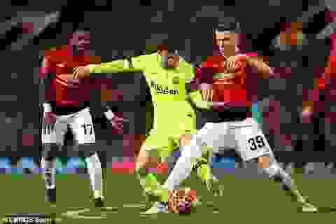 HLV Barcelona lo lắng với chấn thương của Lionel Messi