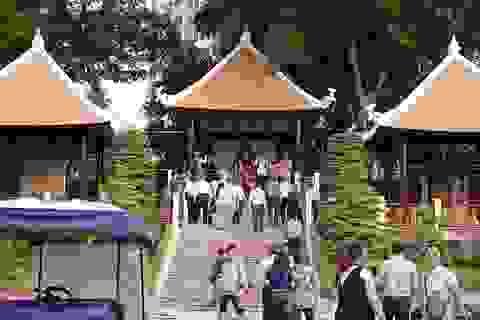 Cùng ngắm Quảng trường Vua Hùng mới, chuẩn bị mở cửa trong ngày Giỗ Tổ