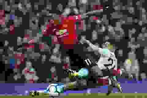 Martial gây thất vọng trong chiến thắng của Man Utd