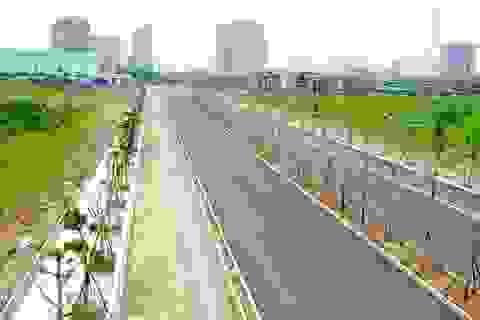 Toàn cảnh tuyến đường Xa La - Nguyễn Xiển đến cao tốc Pháp Vân - Cầu Giẽ qua Khu đô thị Mường Thanh Thanh Hà