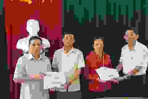 Hơn 70 triệu đồng đến với 2 hoàn cảnh đau thương ở Làng Quỳnh