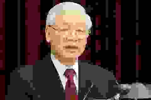 Tổng Bí thư, Chủ tịch nước Nguyễn Phú Trọng gửi điện mừng lãnh đạo Triều Tiên