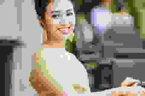 Lương Hải Yến xuất hiện rạng rỡ sau khi đăng quang Quán quân Sao Mai 2019