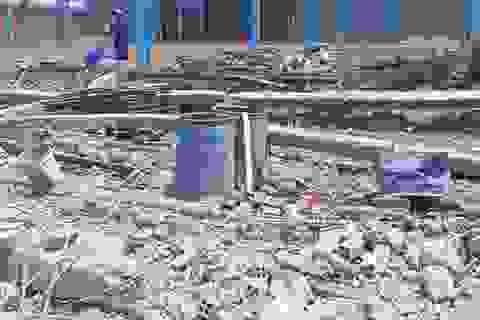 Vụ sập tường  công trình ở Vĩnh Long: Thêm một nạn nhân tử vong