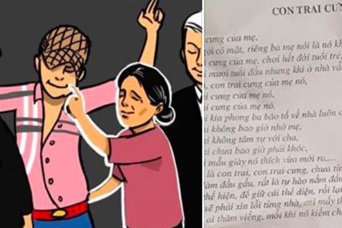 """Thói hư tật xấu của người trẻ trong bài rap """"Con trai cưng"""" vào đề Văn lớp 10"""