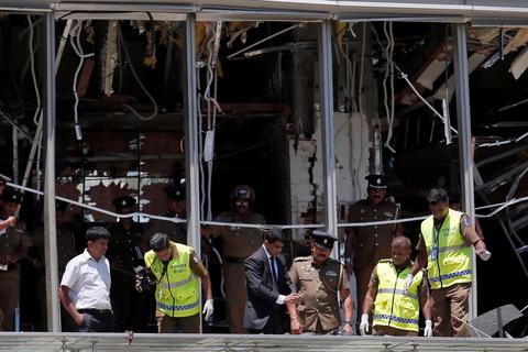 Hé lộ ban đầu về kẻ đánh bom liều chết nhằm vào khách sạn 5 sao Sri Lanka
