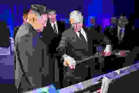 Ông Putin và ông Kim Jong-un tặng nhau bảo kiếm
