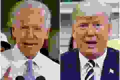 """Ông Trump mỉa mai """"Biden ngủ gật"""" khi cựu phó tướng của Obama tuyên bố tranh cử"""