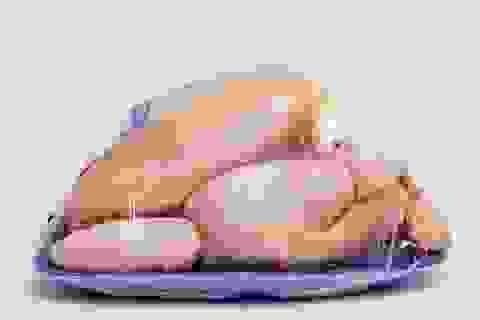 Không nên rửa gà sống trước khi nấu?