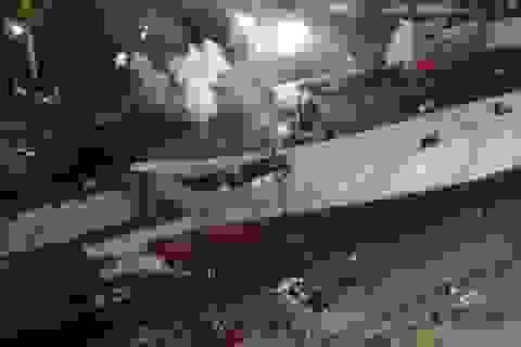 Tàu sân bay đầu tiên của Thổ Nhĩ Kỳ bốc cháy tại cảng