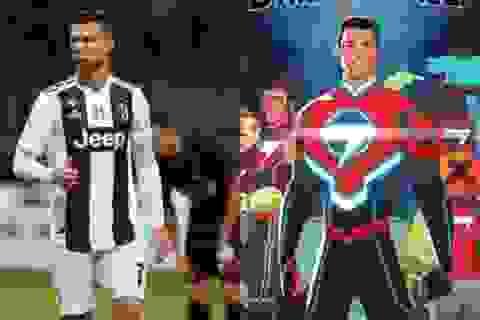 """C.Ronaldo bất ngờ hoá """"siêu anh hùng"""" để đấu với người ngoài hành tinh"""