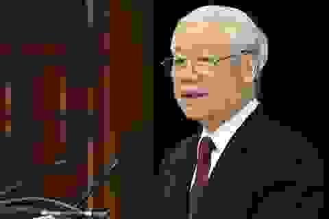 Tổng Bí thư Nguyễn Phú Trọng gửi thư mừng Quốc khánh Singapore