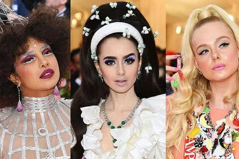 Những kiểu tóc và trang điểm ấn tượng tại Met gala