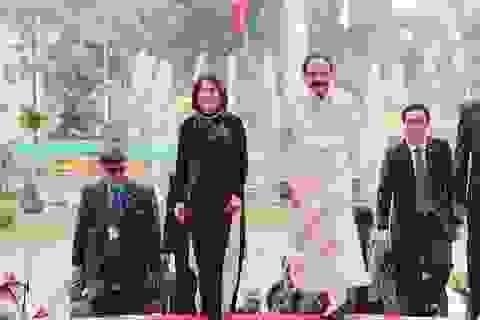 Phó Chủ tịch nước Đặng Thị Ngọc Thịnh chủ trì lễ đón Phó Tổng thống Ấn Độ
