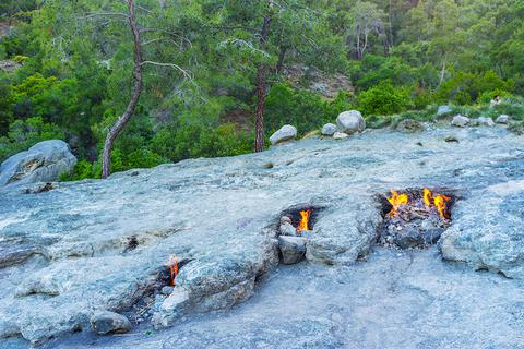 Bí ẩn ngọn núi có lửa cháy suốt nghìn năm ở Thổ Nhĩ Kỳ