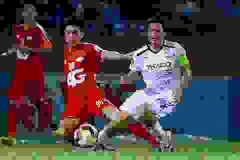 Minh Vương ghi bàn, HA Gia Lai vẫn đứt mạch trận bất bại