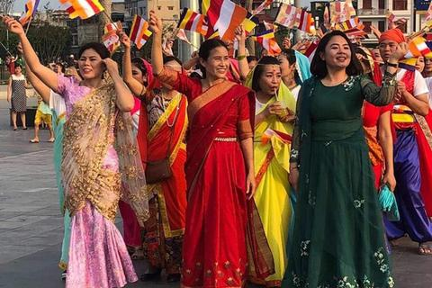 Giáo hội Quảng Ninh nói gì về việc bà Phạm Thị Yến tươi cười xuất hiện tại đại lễ Vesak?