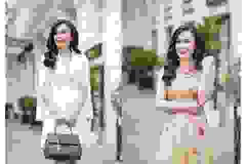 """Diễn viên Phan Kim Oanh """"Về nhà đi con"""" khoe nhan sắc rạng rỡ"""